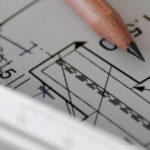 regla de lápiz de anteproyecto