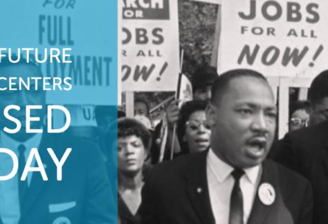 oficina cerrada Martin Luther King, Jr.