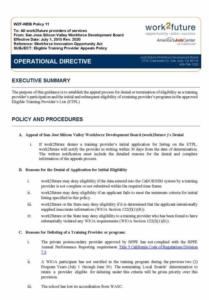 Chính sách | Kháng nghị ETPL [phiên bản 2020]